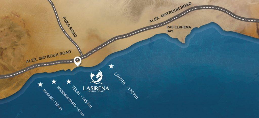 قرية لاسيرينا الساحل الشمالي 13